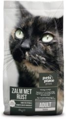 Pets Place Plus Kat Adult Indoor - Kattenvoer - Zalm - Kattenvoer - 4 kg - Kattenvoer