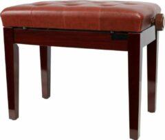Bordeauxrode Innox PB 10RB pianobank rood / bruin