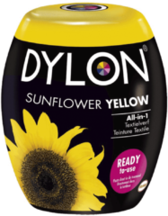 Dylon Wasmachine Textielverf Pods - Sunflower Yellow 350g