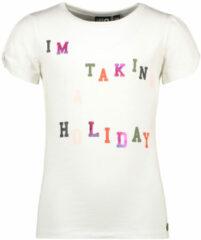 Beige Like Flo Unisex t-shirts & polos Like Flo Flo girls tee open shoulder ro off white 104