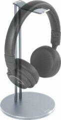 DELTACO HLS-101 Universele koptelefoon standaard aluminium - Antislip - Zilver
