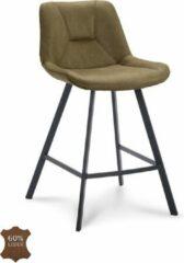 Happy Chairs - Barkruk Hugo ZH65 - Bull Mosgroen