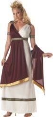Grijze CALIFORNIA COSTUMES - Romeinse keizerin kostuum voor dames - XL (44/46) - Volwassenen kostuums
