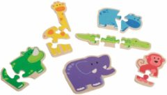 Beleduc Puzzels Happy Animal 18011