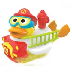 Yookidoo Jet Duck Create A Firefighter Badspeelgoed