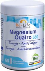Be-Life Be-Llife Magnesium Quatro 550 Capsules