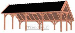 Van Kooten Tuin en Buitenleven Kapschuur de Hoeve XL 885x440 cm