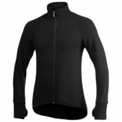 Woolpower - Full Zip Jacket 600 - Wollen vest maat XXS, zwart
