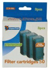 SuperFish AquaFlow Easy Click Cassette 50 - Aquariumfilter