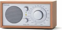 Bruine Tivoli Audio Model One - Tafelradio in Kersen/Zilver