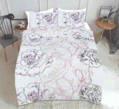 Paarse Bloemen Dekbedovertrek - Arie's Bedding - 200x200