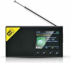 WINNES-Zwart - Draagbare DAB+ radio met bluetooth