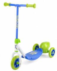 Xootz - 3-wiel Kinderstep Bubble Scooter Jongens Voetrem Groen/blauw