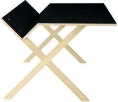 Moormann Kant Tisch - groß/schwarz