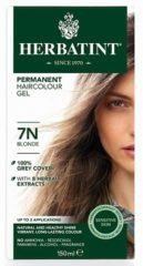 Herbatint 7N Blond – 100% biologische, permanente vegan haarkleuring – Met 8 plantenextracten– 150 ml