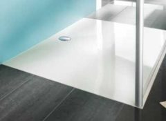 Hüppe EasyStep kunststof douchebak acryl vierkant 80x80x3cm wit