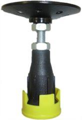 Wisa douchebakdrager/poten, staal, ho 85-130mm, uitvoering douchebakpoten