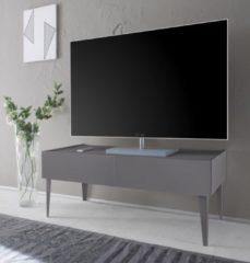 Places of Style TV-Lowboard »Zela« mit 2 Schubladen, mit Füßen, Breite 123 cm