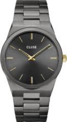 Donkergrijze CLUSE Vigoureux 40 horloge CW0101503006