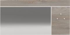 Ameubelment Wandspiegel Prado 120 cm breed in endgrain eiken