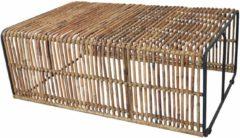 SIT Couchtisch »Rattan Vintage«, Maße (B/T/H): 120/80/45 cm