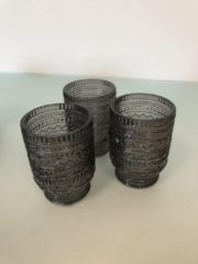 Paarse Merkloos / Sans marque Glazen set ( 3 stuks )