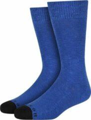 Blauwe Heroes on Socks Andrew Sokken Indigo maat 41-46