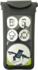 Zwarte Dresco - GSM/Pda-houder fiets - iPhone 4, 4s, 5, 5s, 5c