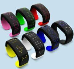 Merkloos / Sans marque Kinderarmband led display (Groen)