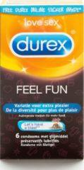 Transparante Durex Feel Fun Condooms - 6 stuks