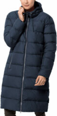 Donkerblauwe Jack Wolfskin Crystal Palace Coat Dames Outdoor Jas - Midnight Blue - Maat S