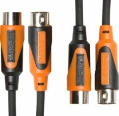 Roland RMIDI-B5-DUAL Black Series Dual MIDI-kabel 1.5 m