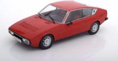 Merkloos / Sans marque Modelauto Matra Simca Bagheera 1974 rood 16 cm - Schaal 1:24 - Speelgoedauto - Miniatuurauto