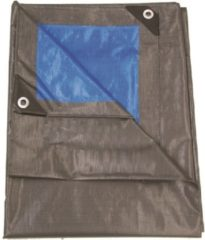 Blauwe Talen Tools dekzeil 5x8 m grijs groen - 210gr/m2 – professioneel extra dik