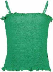 B.Nosy B-Nosy Unisex t-shirts & polos B-Nosy Girls smocked top Golf groen 110/116