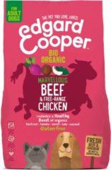 Edgard-Cooper Edgard&Cooper Bio Organic Beef Adult Rund&Kip&Rode Biet - Hondenvoer - 700 g Biologisch