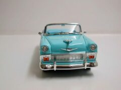 Groene Lucky Die Cast 1/18 Lucky Diecast Chevrolet Bel Air convertible - 1956