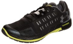 Charged Core Trainingsschuh Damen Under Armour black / smash yellow / metallic silver