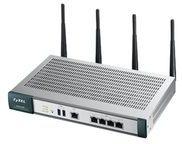 Zyxel UAG2100 - Wireless Router - 802.11a/b/g/n - Desktop, an Rack montierbar - mit ZyXEL SP350E