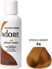 Adore Shining Semi Permanent Hair Color  Adore 46 Spiced Amber  Haaverf