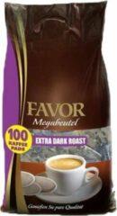 Favor - Extra Dark Roast Megazak - 100 pads