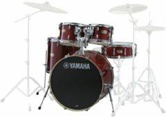 Yamaha JSBP2F5CR Stage Custom Birch shellset Cranberry Red