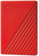 WD WDBYVG0020BRD-WESN My Passport Externe harde schijf (2.5 inch) 2 TB Rood USB 3.0