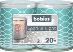 Bolsius Sparkle Light 64 X 52 m 2 stuks Net OCE