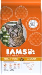 Cat adult chicken 3 kg iams kattenvoer Eukanuba