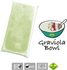 Graviola - Bevroren fruit puree (pulp) - Acai fine fruits club - 4 Kg (40 x 100g)