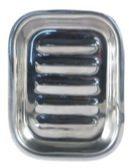 Zilveren Aleppo Soap Co Zeepbakje Rechthoekig