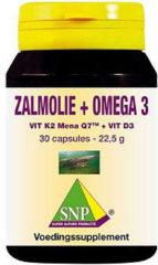 SNP Zalmolie & vit. K2 mena Q7 & vit. D3 & vit. E 30 Capsules