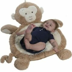 Bruine Baby Speelkleed Aap - Bestever Babymat - Mary Meyer