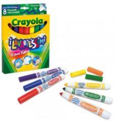 """8 Pennarelli """"I Lavabilissimi"""" Punta Maxi Crayola"""